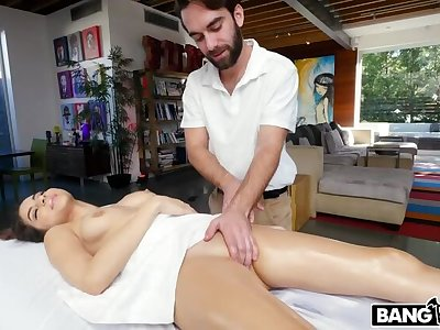 Nina North gets rubbed on all will not hear of sore spots