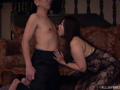 Fucking skills of horny Asian Kaori can burn the fire in every man