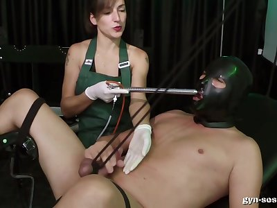 Baroness Mercedes wants to punish her lover with pain and pleasure