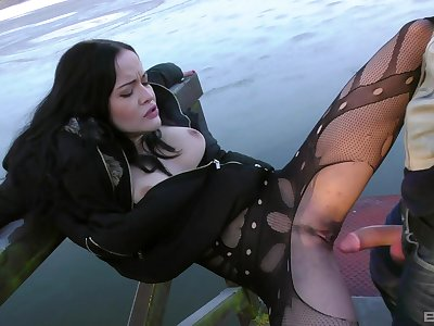 Fuck tool fun and outdoor sexual relations for slutty girl Dolly Diore