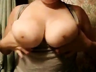Chubby girlfriend fat boobs