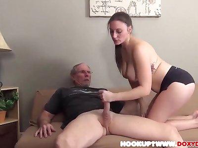 Grandpa Fucks Teenage Go away from And Go away from